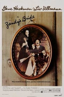 poster Zandy's Bride (1974)