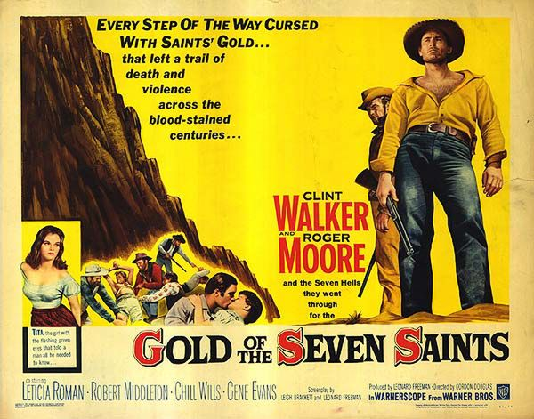 poster Gold of the Seven Saints (1961)