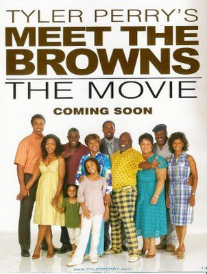 poster Meet the Browns (2008)