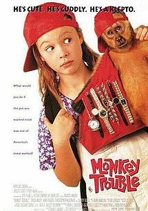 poster Monkey Trouble (1994)