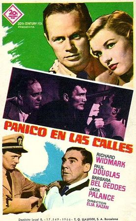 poster Panic in the Streets (1950)