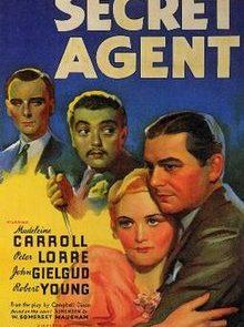 poster Secret Agent (1936)
