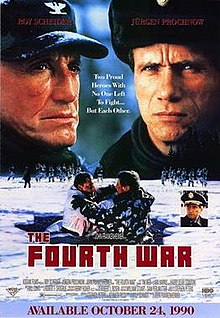 poster The Fourth War (1990)