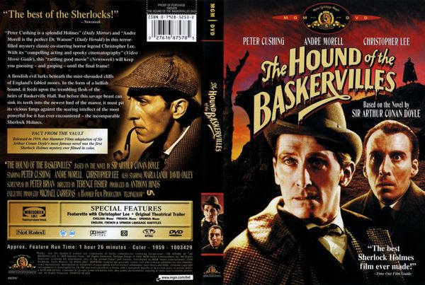 poster The Hound of the Baskervilles (1959)