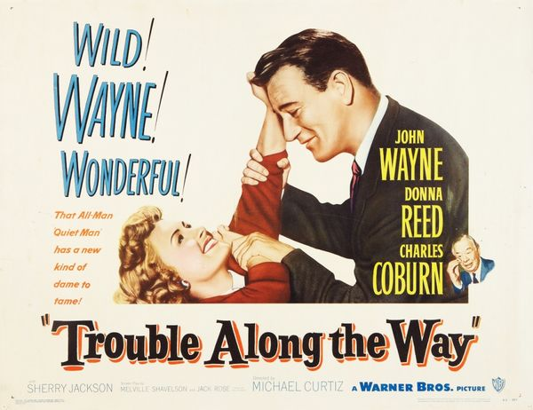 poster Trouble Along the Way (1953)