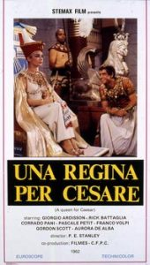 poster Una regina per Cesare (1962)