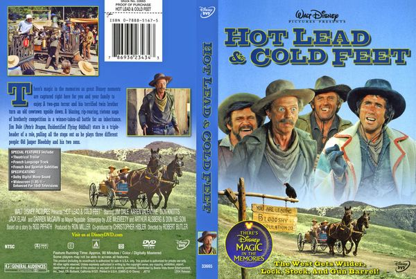 poster Hot Lead and Cold Feet (1978)