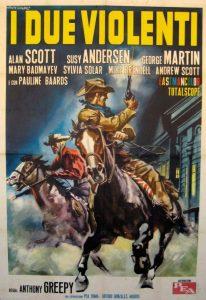 poster I due violenti (1964)