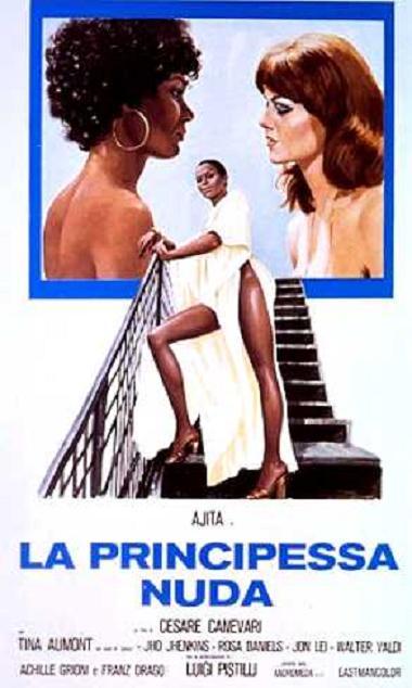 poster La Principessa nuda (1976)