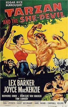 poster Tarzan and the She Devil (1953)