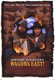 poster Wagons East (1994)