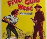 poster Five Guns West (1955)