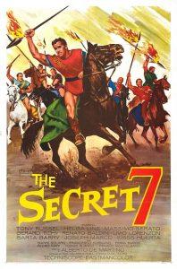poster Gli invincibili sette (1963)