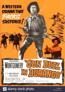 poster Gun Duel in Durango (1957)