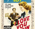poster I Love You Again (1940)