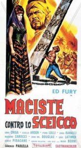 poster Maciste contro lo sceicco (1962)