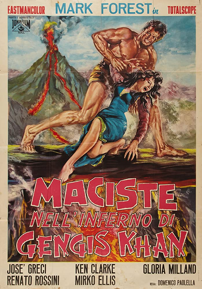 poster Maciste nell'inferno di Gengis Khan (1964)