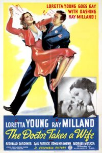 poster The Doctor Takes a Wife (1940)