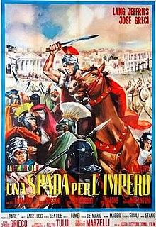 poster Una spada per l'impero (1964)