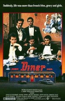 poster Diner (1982)