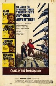 poster Guns of the Timberland (1960)