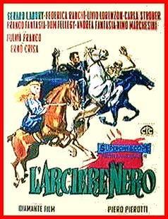 poster L'arciere nero (1959)