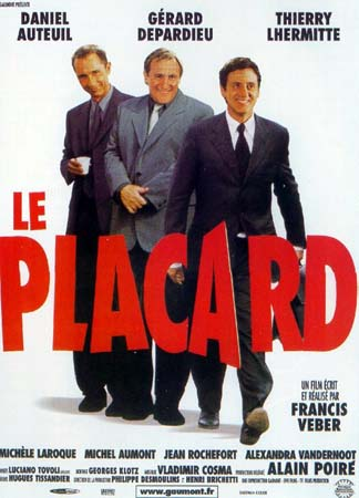 poster Le placard (2001)