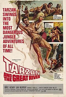 poster Tarzan And The Great River (1967)