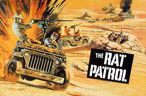 poster The Rat Patrol TV Series (1966–1968)