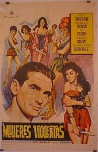 poster La regina delle Amazzoni (1960)