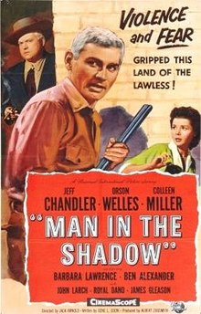 poster Man in the Shadow (1957)