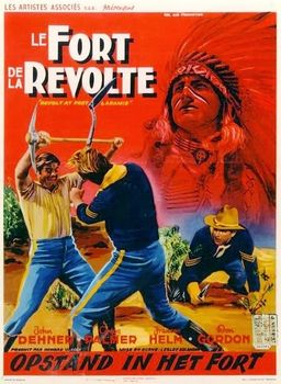 poster Revolt at Fort Laramie (1957)