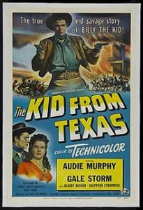 poster The Kid from Texas (1950)