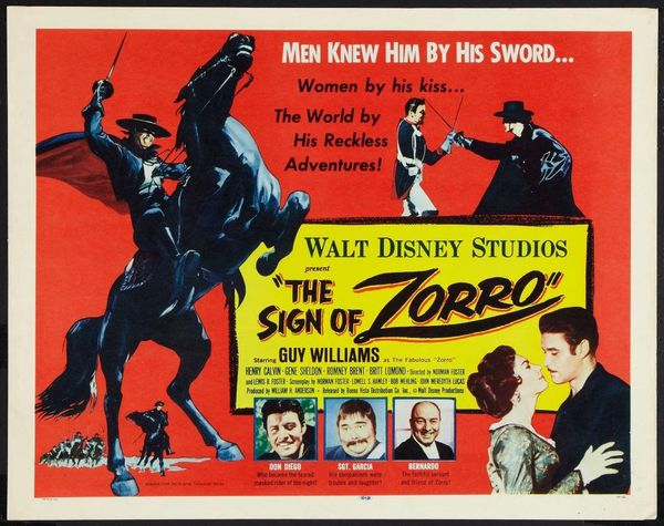 poster The Sign of Zorro (1958)