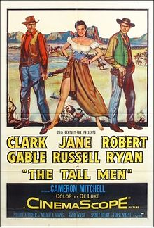 poster The Tall Men (1955)
