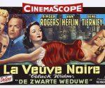 poster Black Widow (1954)