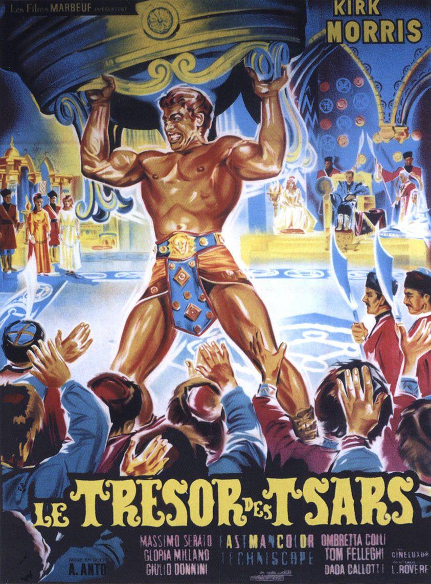 poster Maciste alla corte dello zar (1964)