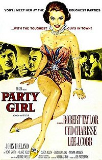 poster Party Girl (1958)