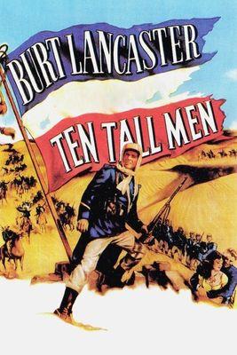poster Ten Tall Men (1951)