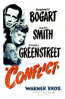 poster Conflict (1945)