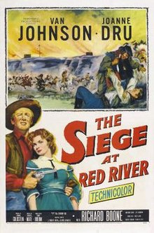 poster Siege at Red River (1953)