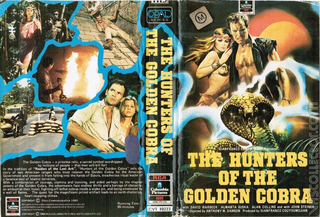 poster The Hunters of the Golden Cobra (1982)