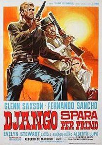 poster Django spara per primo - Django Shoots First (1966)
