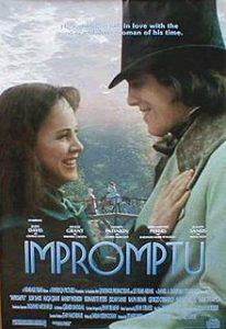 poster Impromptu (1991)