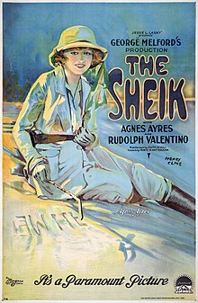 poster The Sheik (1921)