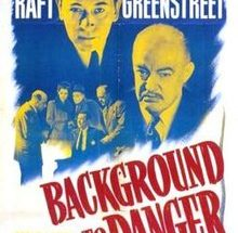 poster Background to Danger (1943)