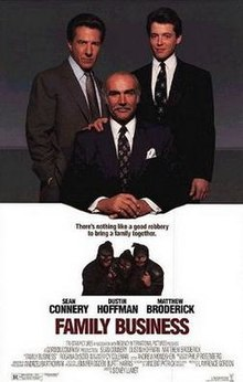 poster Family Business (1989)