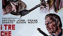 poster I tre che sconvolsero il West (Vado, vedo e sparo) (1968)