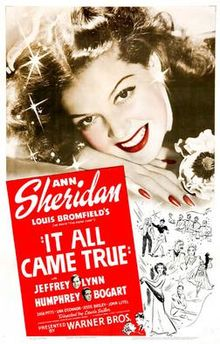 poster It All Came True (1940)
