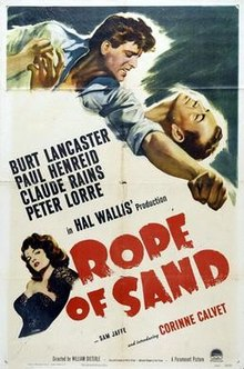 poster Rope of Sand (1949)